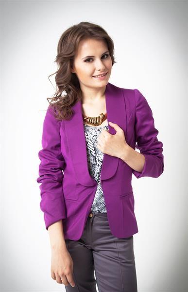 Фиолетовый пиджак фото