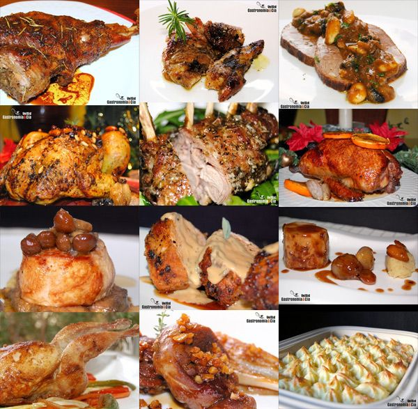 Doce recetas de carne para Navidad