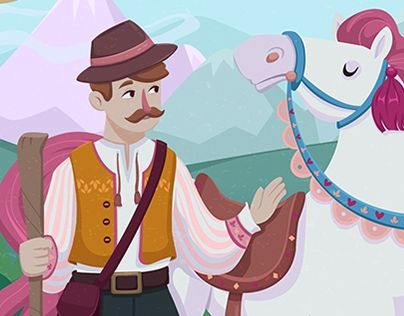 """Check out new work on my @Behance portfolio: """"Children's Story - An Unlikely…"""
