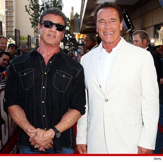 Sylvester Stallone vs. Arnold Schwarzenegger: Who'd You ...