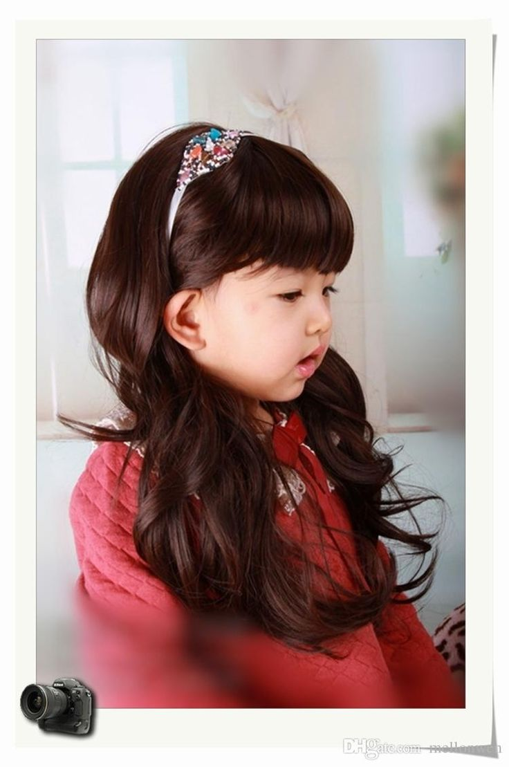 2015 Hot Sale On DHgate New Arrival Children Wigs Fashion Style Hair Accessories Cosplay Princess