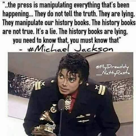 "And yall slept on my mans Mike. All he ever did was speak truths and try and warn us. ""All I wanna say is that they don't really care about us"" ~They Don't Care About Us He wrote a dang song about it. Has written multiple about it."