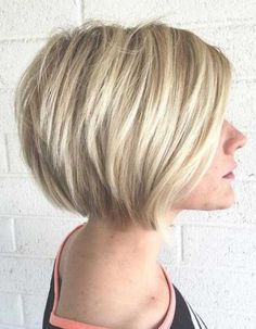 15 Bob Hairstyles for Fine Hair For my sister                                                                                                                                                     More