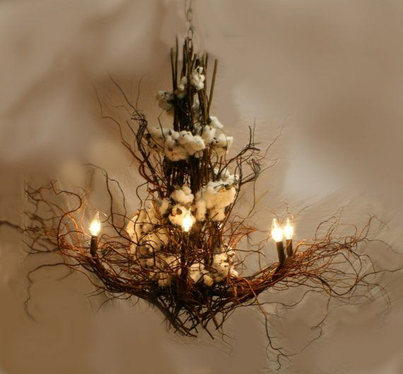 twig & cotton chandelier