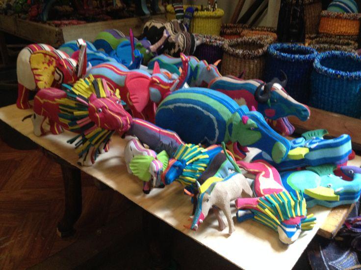Animals & Puppets @ Maasai Market, Nairobi