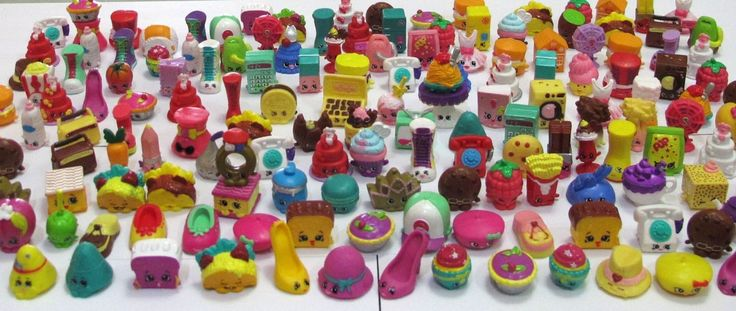 Shopkins Character Toys Figure 100pcs Random mixed Lot NEW RARE US