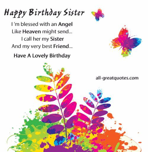 67 best birthday miscellaneous images – Free Birthday Cards Sister