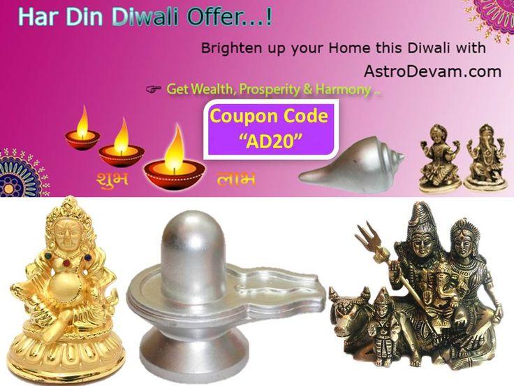 "AstroDevam.com Diwali Dhamaka Offer - 20% Off Use Coupon Code - ""AD20"""