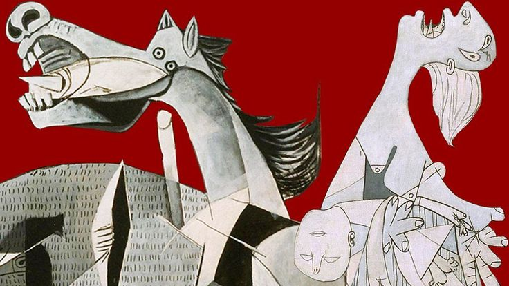 essay on picasso guernica Picasso was enraged by the destruction of the spanish town of guernica, and his   composition, symbolism) and determine how picasso's choices affected the.