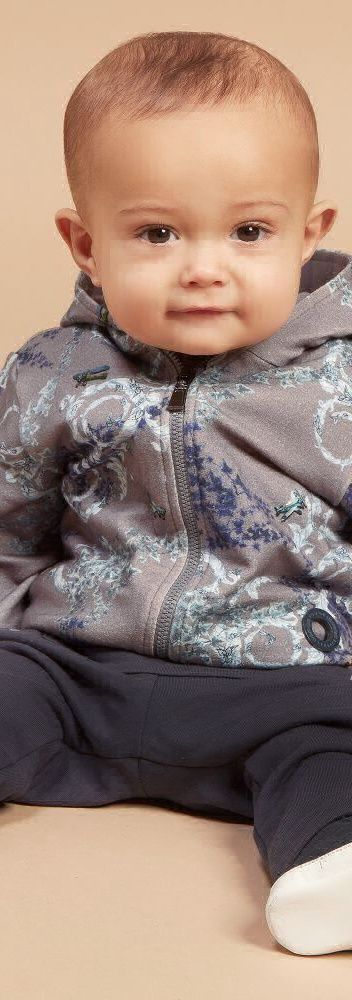 ON SALE !!! YOUNG VERSACE Baby Boys Grey Baroque Tracksuit. Adorable Mini Me Look for Boys. Inspired by the Versace Men's Fall Winter Collection.    #kidsfashion #kids #baby #boy #versace #MINIME #babyclothescutest