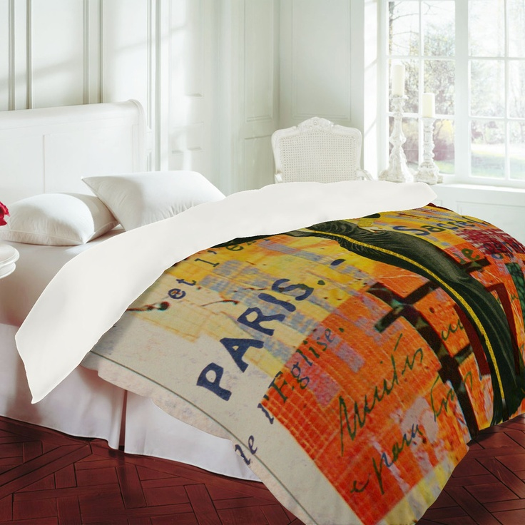 Duvet covers by artists. So. Cool.