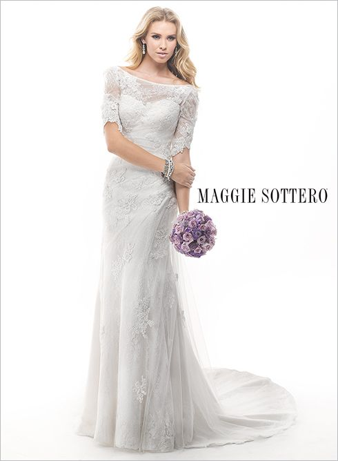 Large View of the Theda Bridal Gown