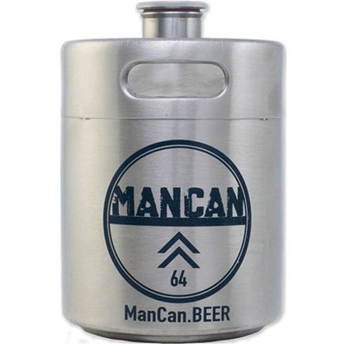 Stainless Steel Mini-Keg Growler