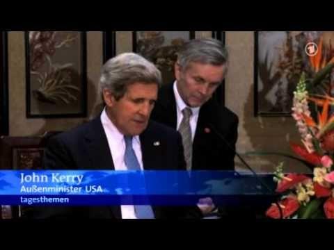 US-Außenminister Kerry berät Nordkoreas Drohungen mit China   ARD tagesschau.de