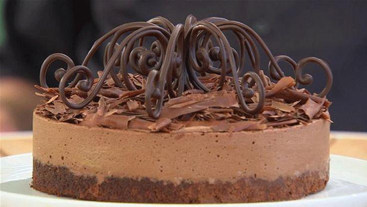 Her er den ultimative opskrift for alle chokoladeelskere. En lækker kage med masser af dejlig chokolade - og den hemmelige udfordring i Den Store Bagedyst-finale