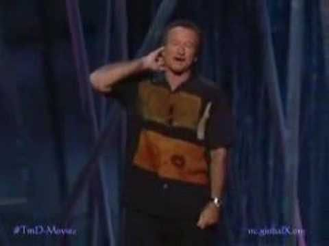 Robin Williams Stand Up, the complete and utter master - sorry, it´s 240p