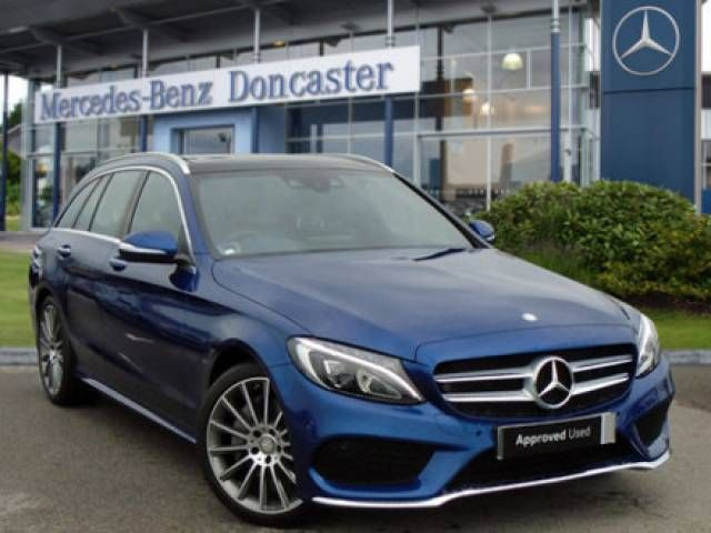 Mercedes Benz C Class 2 1 C250 Blueefficiency Amg Line