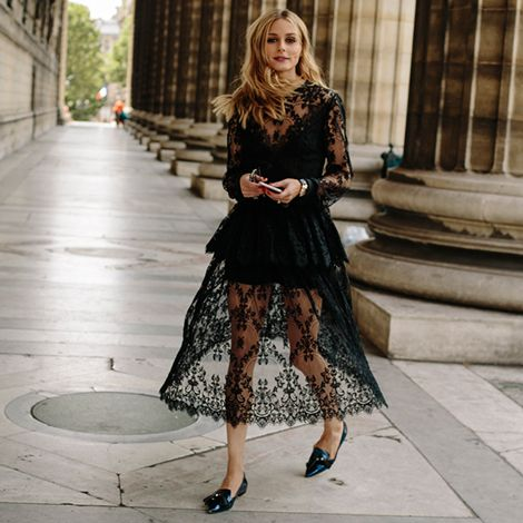 Olivia raised the bar on all-black looks in 2016, and this lace is no exception. Buy the styles here: http://oliviapalermo.com/2016-roundup-favorite-looks/?slide=3