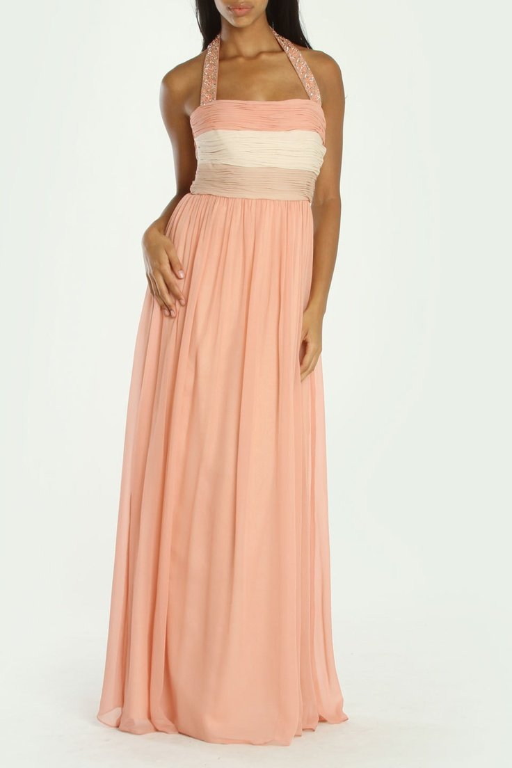 What a pretty dress! Love the style and colors! $ 100