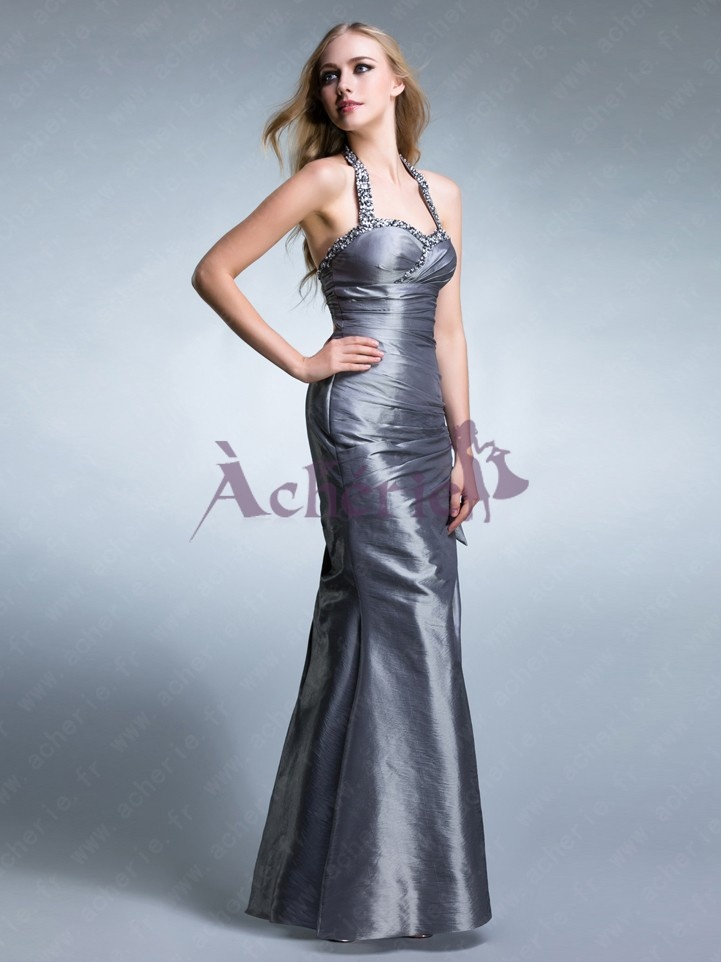 Cherie red formal gown cigarette holder - 2 3