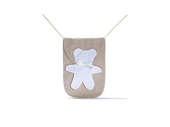Porta Pannolino Orso /  Envelope port diaper di EffeCremona
