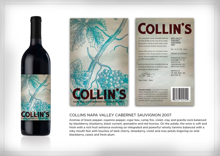 Never tried this...but love that blue!: Favorite Wine, Label Design, Wine Labels, Labels Design