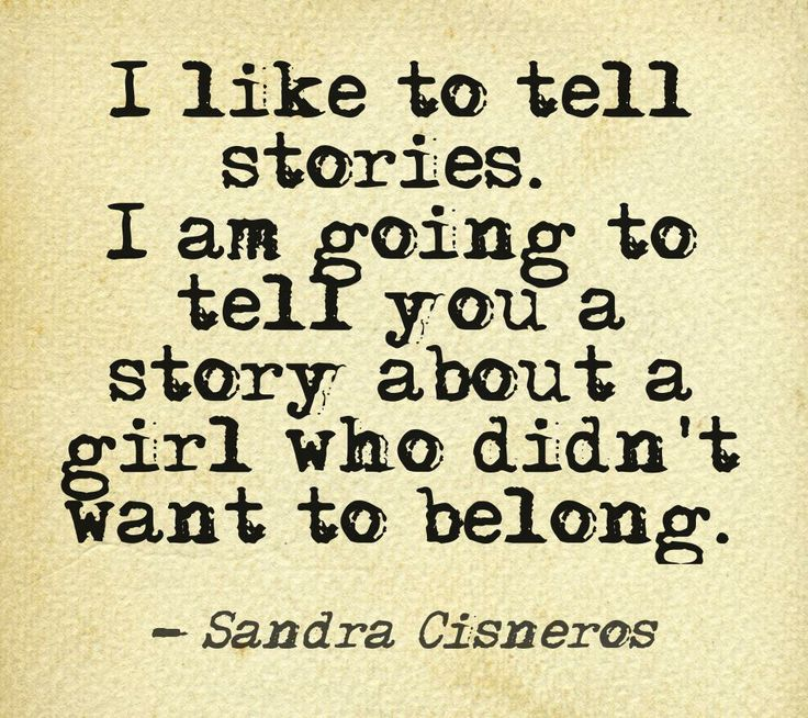 Sandra Cisneros uses stories to illustrate the troubles that young adolescents face when dealing with issues of their own ethnicity. The stories she tells are arranged in a way that the language makes the reader feel disjointed, much like the character, Esperenza feels throughout the story. She uses language to encourage the reader to feel a sense of empathy for the characters.