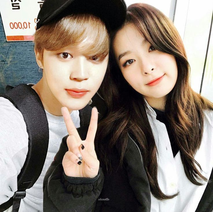 Seulmin selca.....  #Seulgi #Jimin #We Got Married