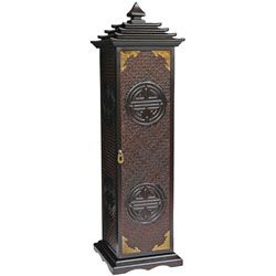 Pagoda CD/ DVD Stand (China) | Overstock™ Shopping - Top Rated Media/Bookshelves