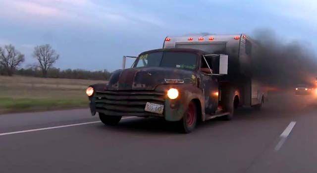 Rollin' Coal in a Turbo Diesel Rat Rod Pickup