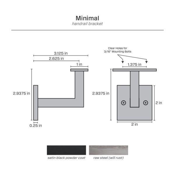 Best Minimal Handrail Bracket Handrail Brackets Minimalism 400 x 300