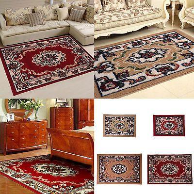 60/118cm Large Oriental Area Rug Persian Carpet For Bedroom Hotel Floor Mat