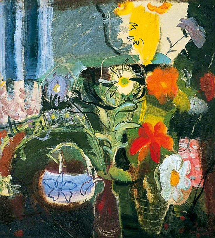 Flowers - the painting that is on the Art Fund Guide 2013 cover - I think they've mirrored it you know!