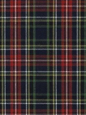 Ethan Tartan Crimson by Ralph Lauren Fabric