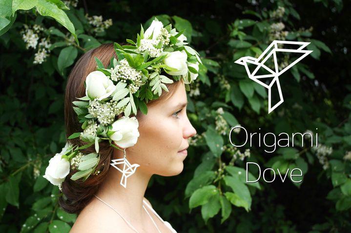 YO ZEN Origami Dove jewelry collection