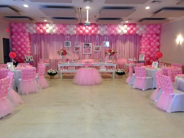 Ballerina birthday party with Lots of Really Cute Ideas via Kara's Party Ideas | Cake, decor, recipes, cupcakes, favors, games, and MORE! KarasPartyIdeas.com #ballerina #ballerinaparty #ballet #balletparty #partyideas #partydecor #eventstyling #eventplanning #partydesign (10)