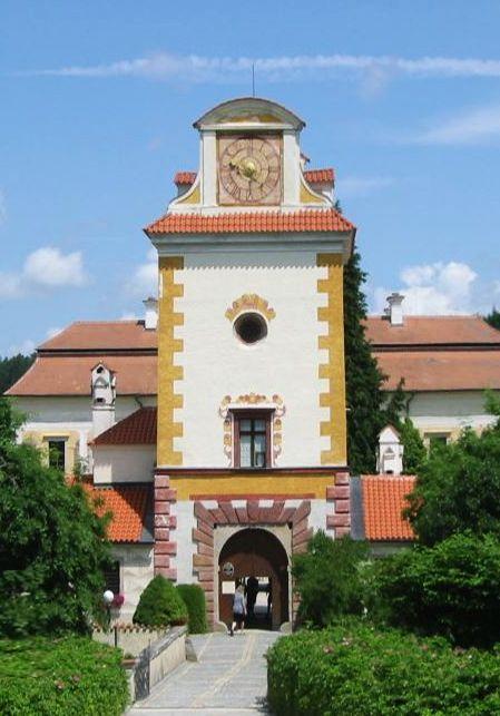 Kratochvíle castle (South Bohemia), Czechia