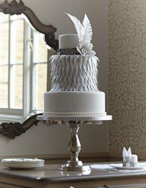 Charleston Feather Cake