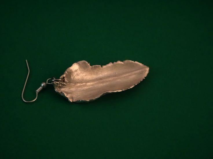 Ciondolo Foglia in Argento Fatto a mano  Shop sul sito