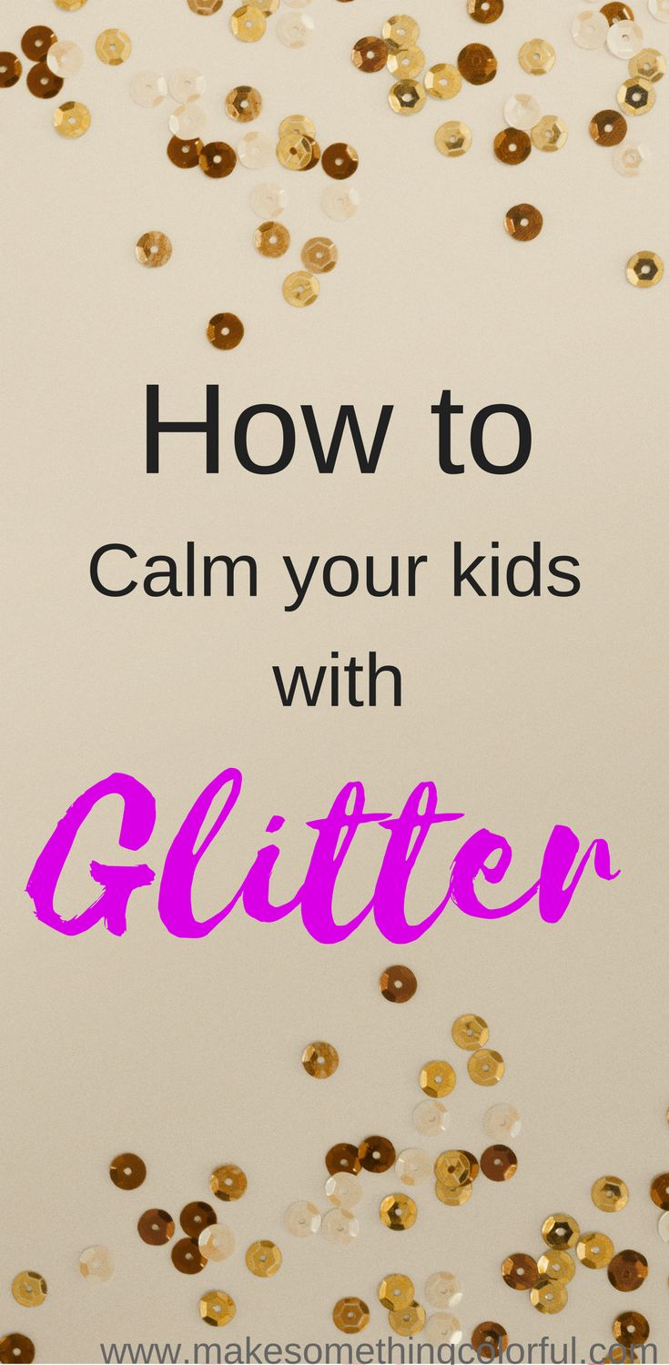 how to make a glitter jar without glitter glue