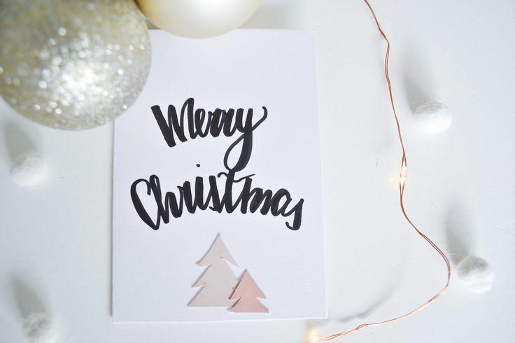 Christmas card, DIY, colour, cards