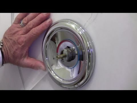Valve Replacement Youtube Shower Valve Replacement