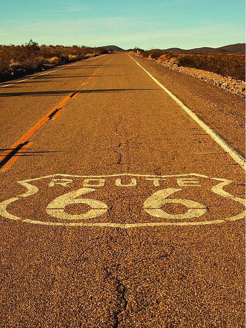 I'd like to travel Route 66 in its entirety with my husband someday...