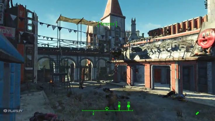 Made a mod that makes every raider at nuka world fight against each other #Fallout4 #gaming #Fallout #Bethesda #games #PS4share #PS4 #FO4