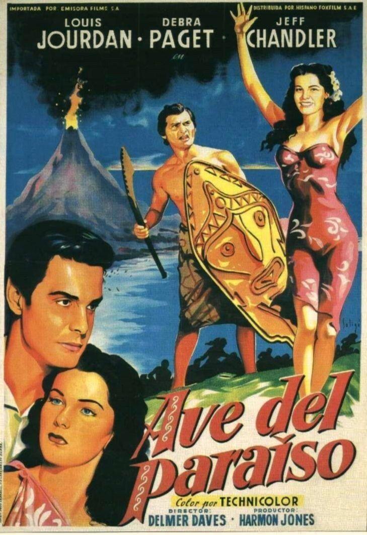 """Ave del paraíso (1951) """"Bird of Paradise"""" de Delmer Daves - tt0043343"""