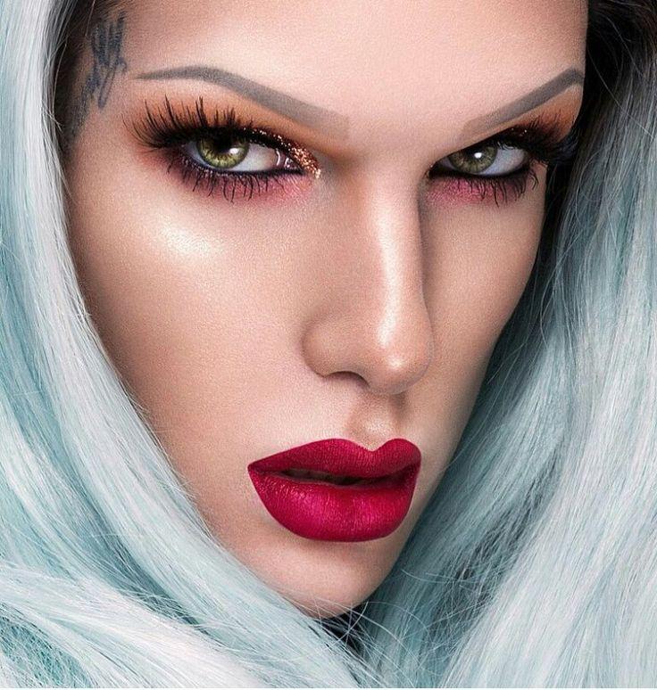 New shade of liquid lipstick #Richblood Jeffree Star
