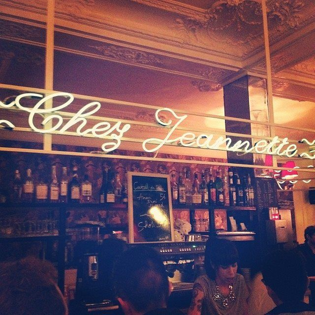 How To Eat Like A Local In Paris -- only in France would they have a cream puff or eclair shop!