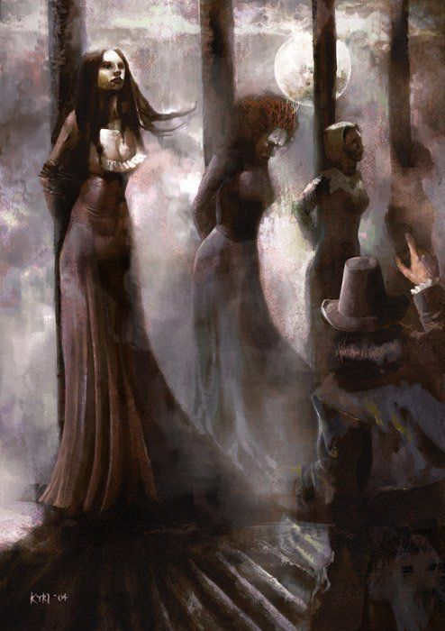Witch hunts were a way of eliminating women healers such as witches as midwives to make way for male doctors who sought to control women, women's health, and women's reproduction.