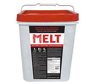 Snow Joe 25-lb Pro Strength Calcium Chloride Pe llet Ice Melt