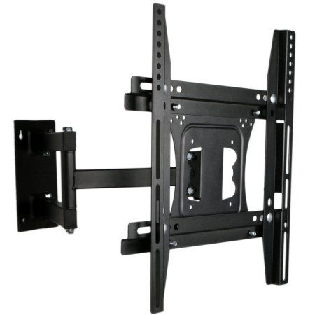 UNHO Full Motion TV Wall Mount for 22-50 inches TVs Tilt and Swivel Articulating Arm Image 2 of 7